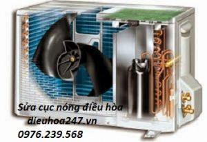 Sửa điều hòa cục nóng không chạy quạt